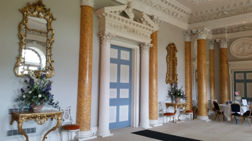 Elegant interior Stoneleigh Abbey