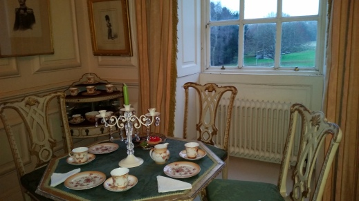 """The morning room"" at Stoneleigh Abbey"