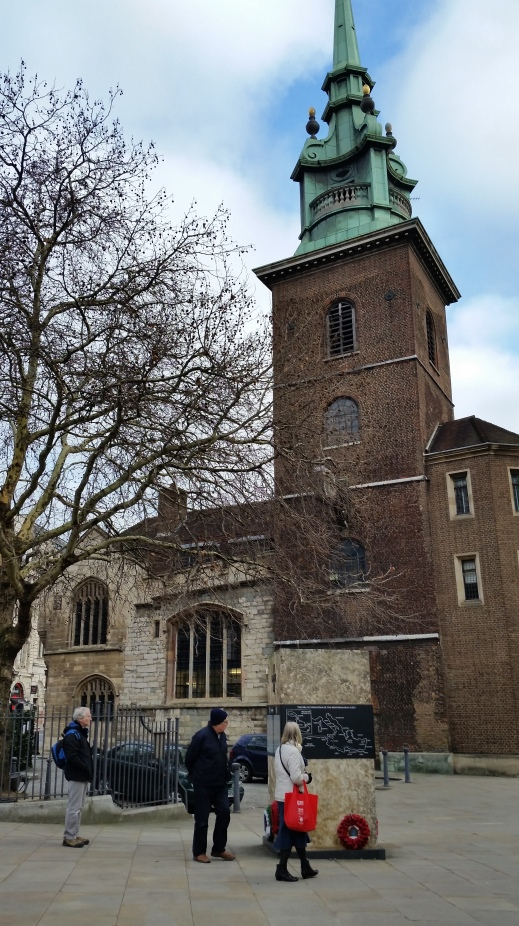 All Hallows by the Tower, London