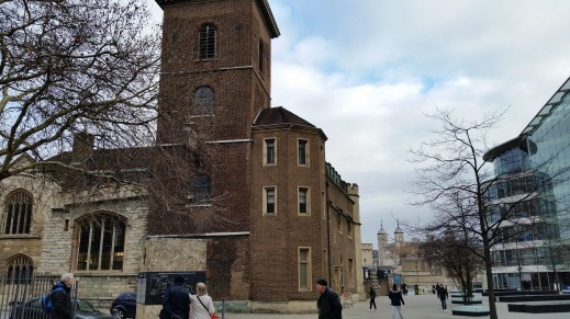 All Hallows by the Tower - the nearest church to the Tower of London