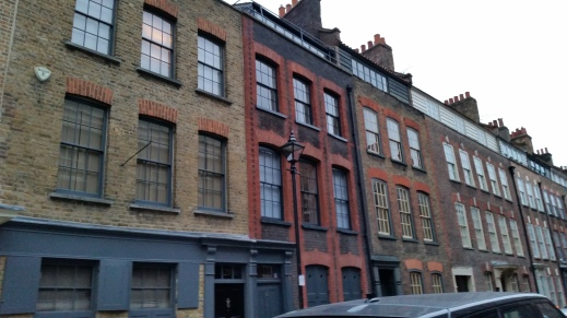French Huguenots' houses Spitalfields