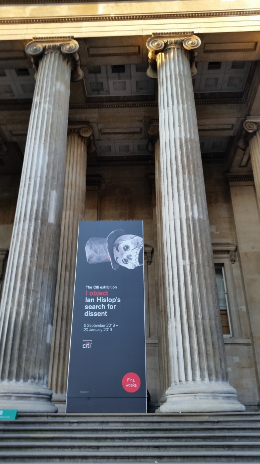 """I Object"": Ian Hislop's Search for Dissent - exhibition at the British Museum 2018/2019"
