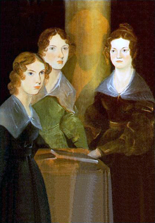 Painting of the Brontë sisters