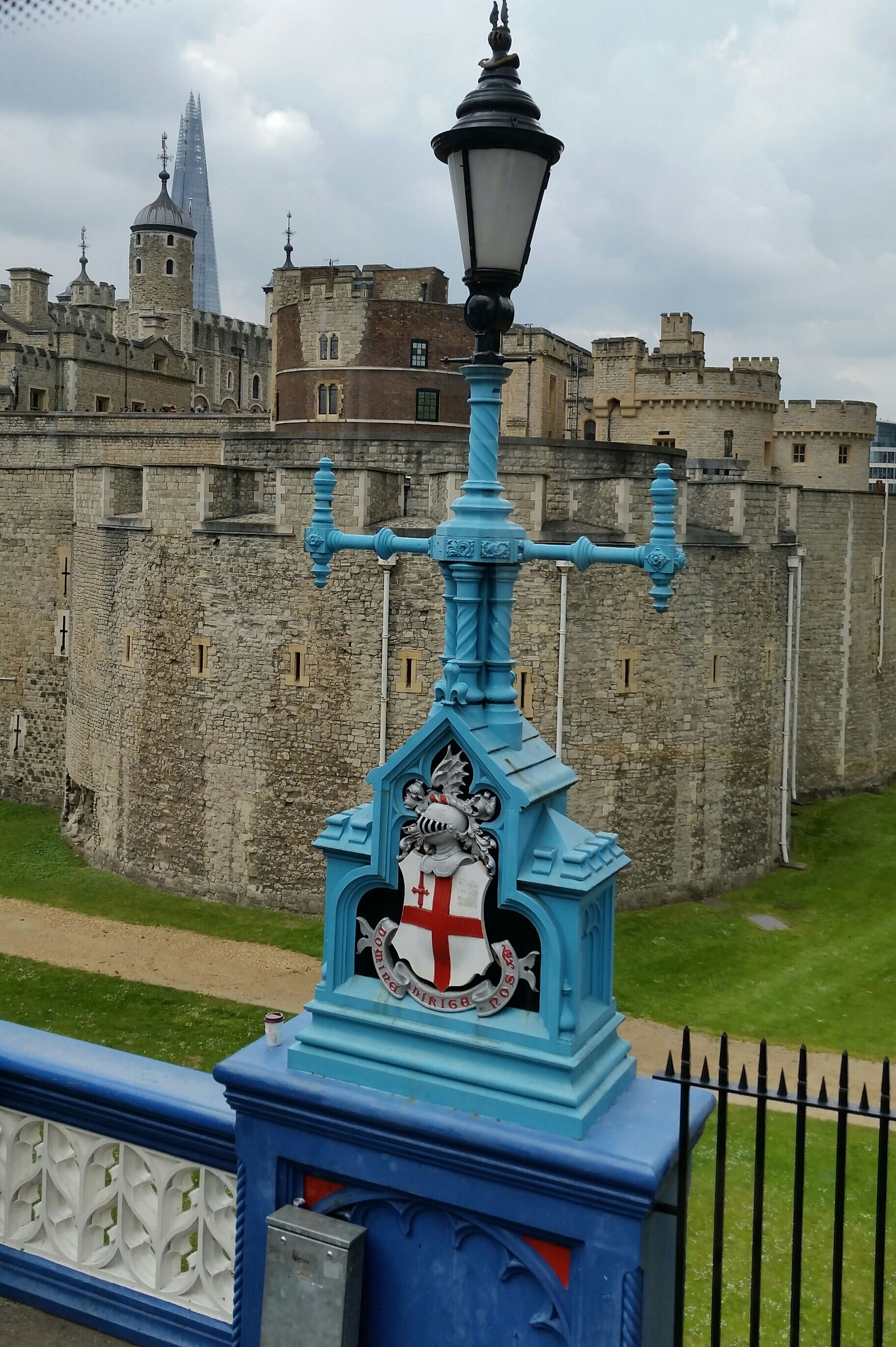 View of the Tower of London from Tower Bridge