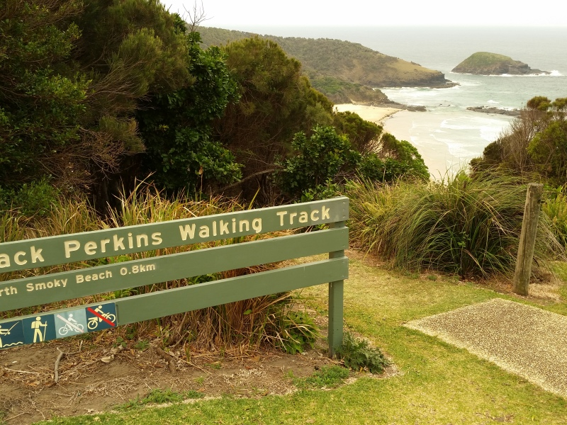 Walking track at Smoky Cape New South Wales