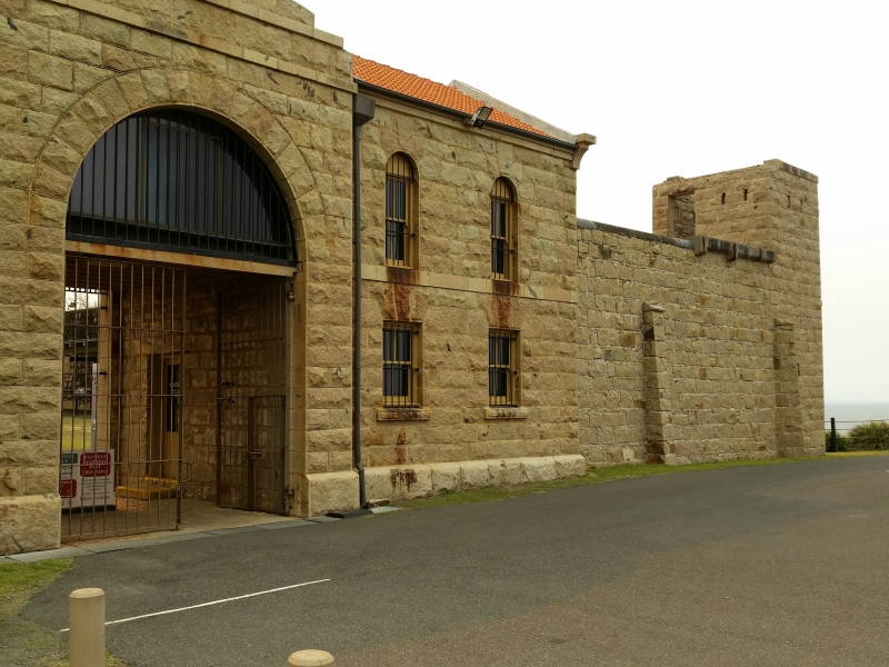 Trial Bay Gaol, South West Rocks, New South Wales