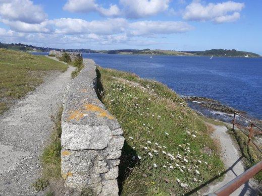 Pendennis Castle Pendennis Point Cornwall SC Skillman