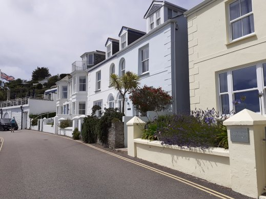 seafront cottages St Mawes Cornwall SC Skillman