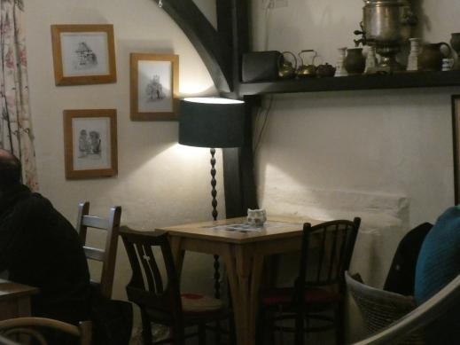 Inside Thomas Oken's Tea Rooms Warwick