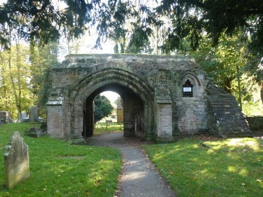 Remains of arch Abbey Fields Kenilworth photo credit Jamie Robinson Paranormal Warwickshire SC Skillman