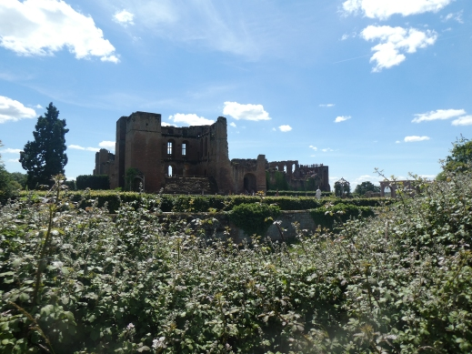 Kenilworth Castle keep. Photo credit Jamie Robinson Paranormal Warwickshire SC Skillman