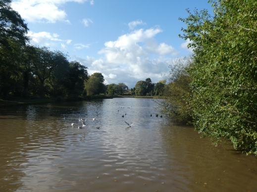 lake in Abbey Fields Kenilworth photo credit Jamie Robinson Paranormal Warwickshire SC Skillman