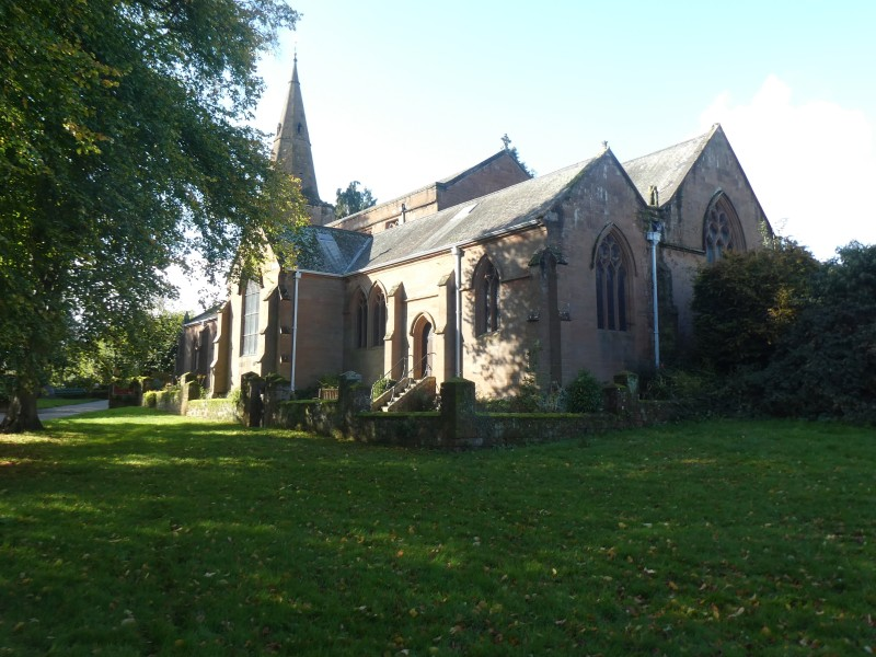 St Nicholas Church Kenilworth Abbey Fields photo credit Jamie Robinson Paranormal Warwickshire SC Skillman