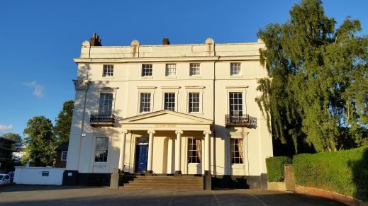 Victoria House Leamington Spa photo credit Sheila Robinson Paranormal Warwickshire SC Skillman