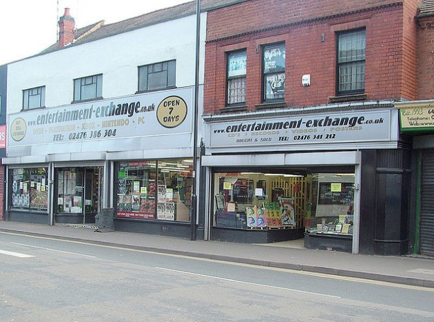 60 and 62 Queens road Nuneaton during the time Angela Collings occupied it with her business Entertainment Exchange