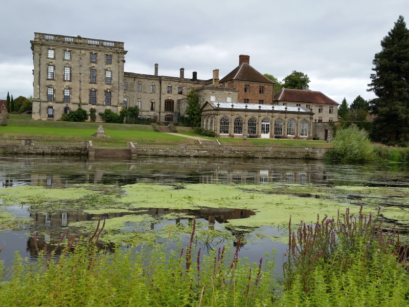 Stoneleigh Abbey from other side River Avon