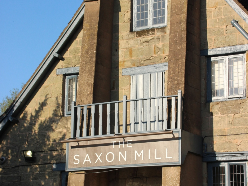 Saxon Mill viewed from Coventry Road Warwick