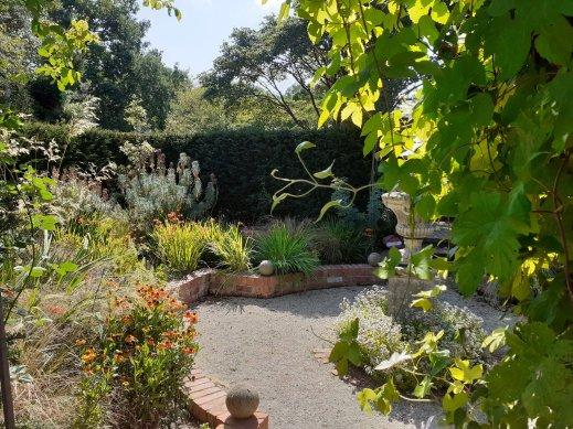 garden Coughton Court Warwickshire